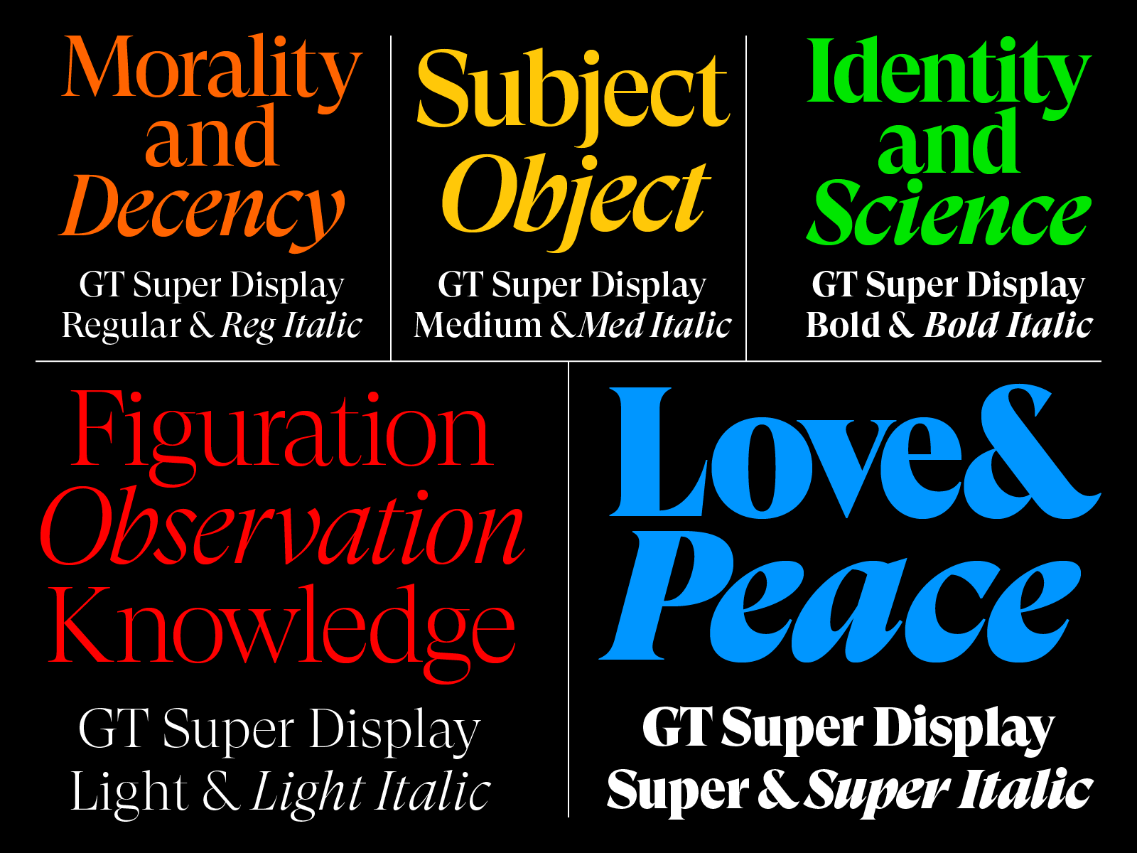 GT Super – Grilli Type – Independent Swiss Type Foundry